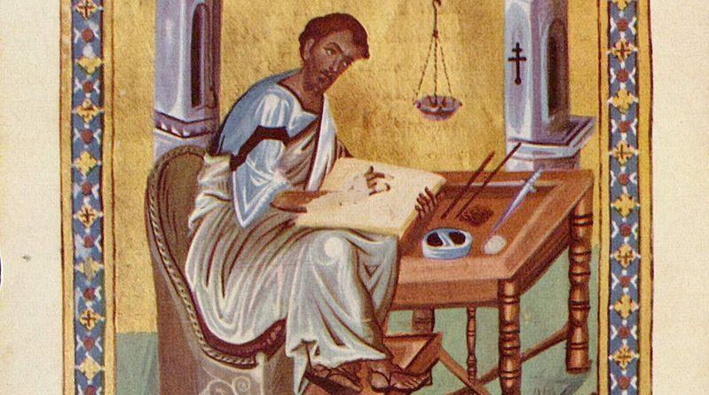 """Részlet a """"Kommentárok Lukács Evangéliumához"""" c. összeállításból."""