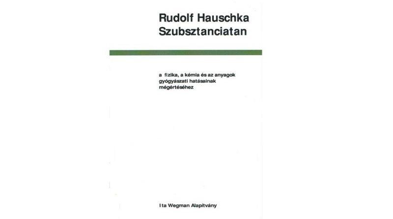 Rudolf Hauschka: Szubsztanciatan